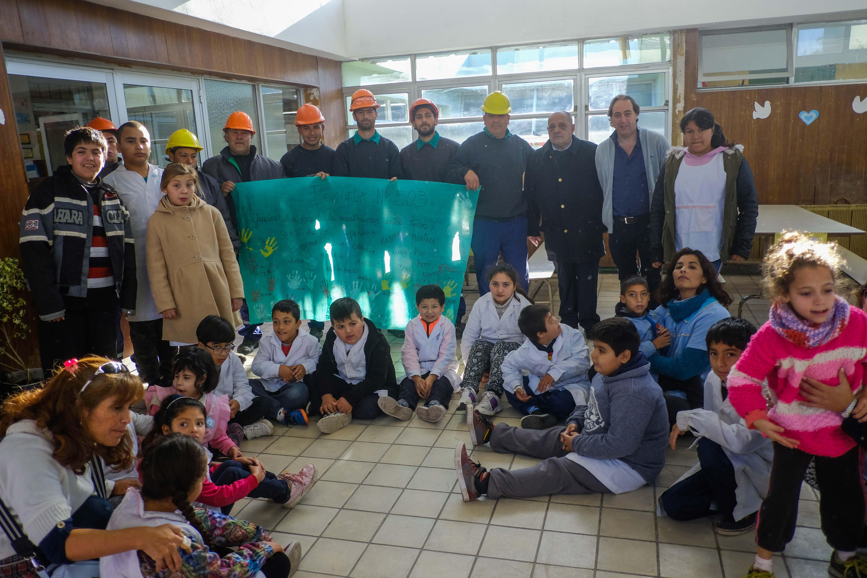 El Municipio avanza en los trabajos en escuelas municipales
