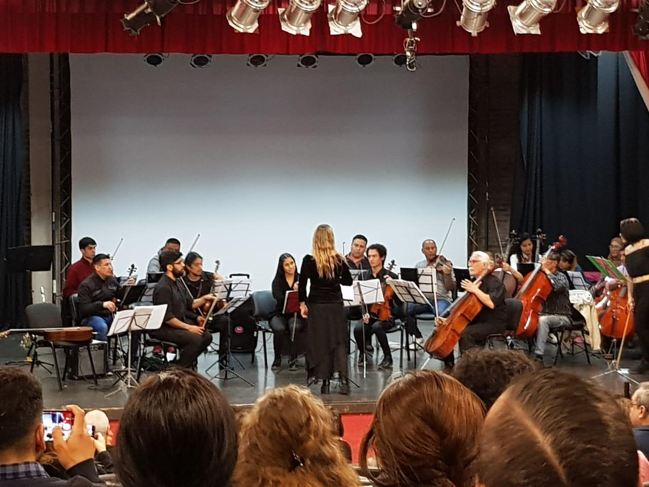 La Secretaría de Cultura invita a cantar el Himno junto a la Orquesta sinfónica municipal