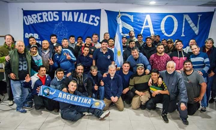 Obreros navales: La Agrupación Azul y Blanca ganó Mar del Plata y se proyecto a nivel nacional