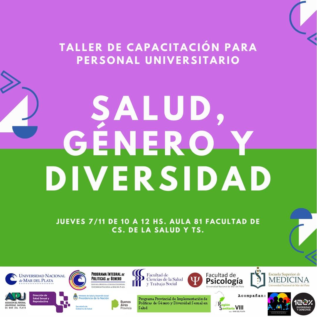 Región Sanitaria VIII realizará Jornada de Sensibilización sobre Diversidad y Salud