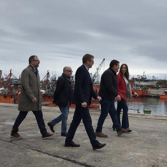En Mar del Plata, Vidal anunció medidas para sector pesquero y la industria naval