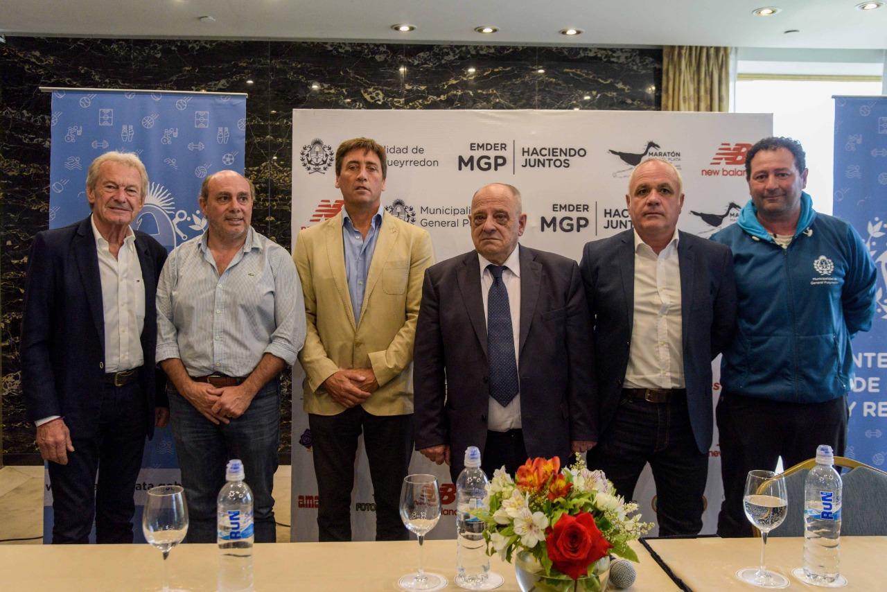 Arroyo encabezó la presentación del Maratón Internacional de Mar del Plata