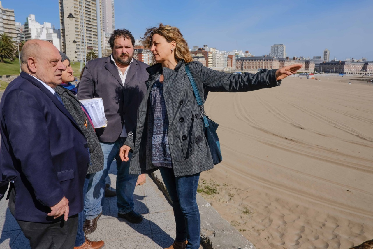 Playa Las Toscas: Arroyo aclaró que existe un convenio «que voy hacer cumplir»