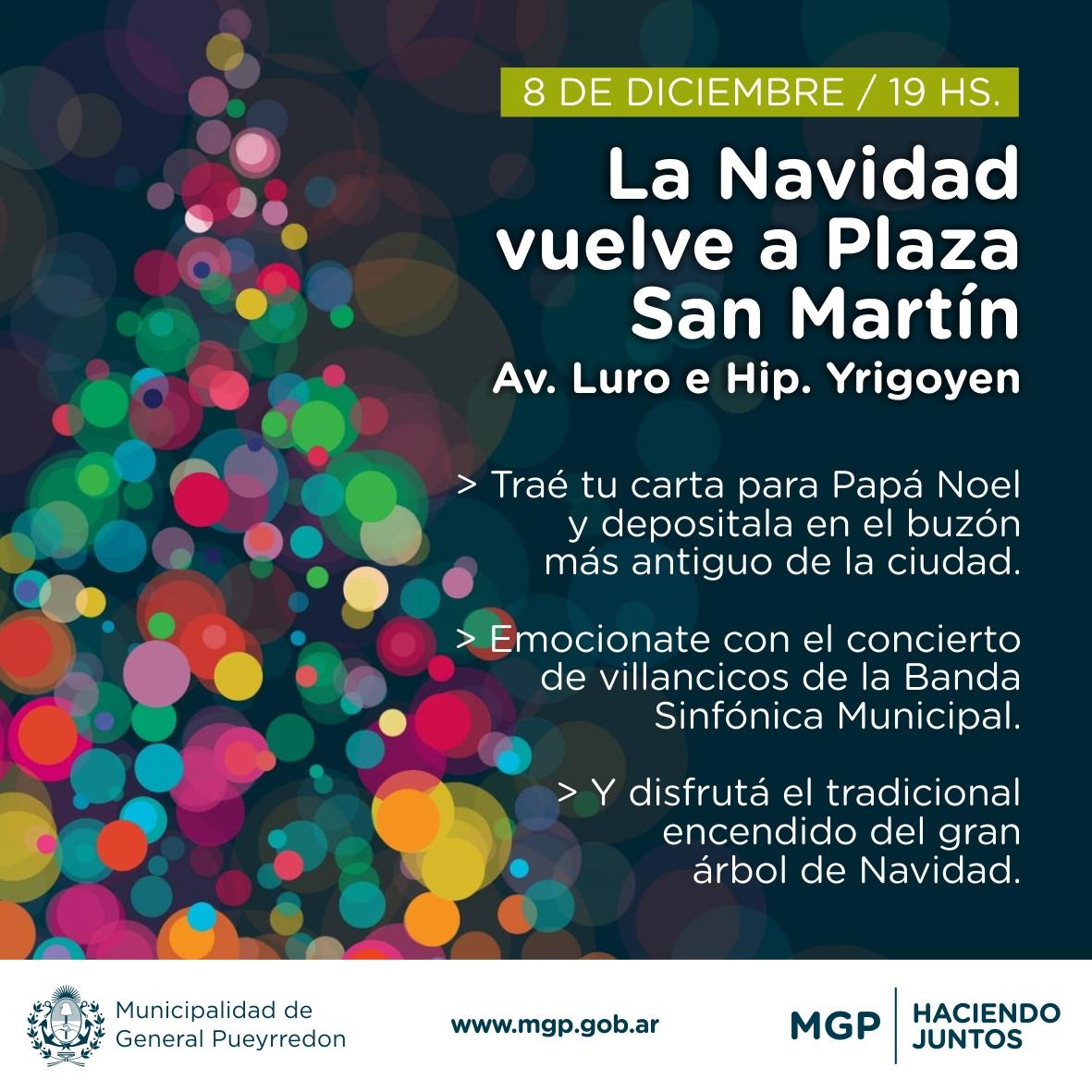 La Navidad vuelve a Plaza San Martín