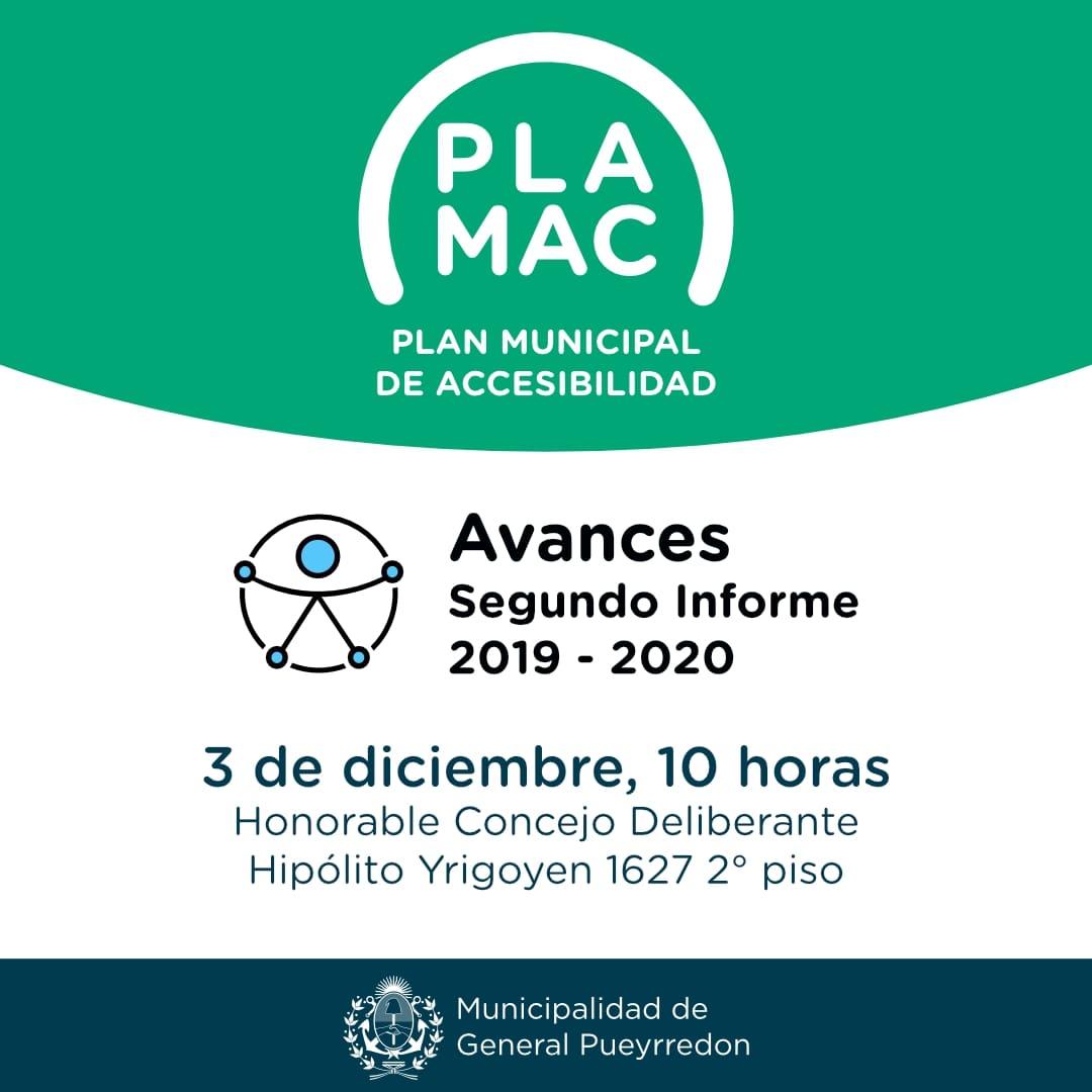 Se presenta el segundo informe de los avances del Plan Municipal de Accesibilidad