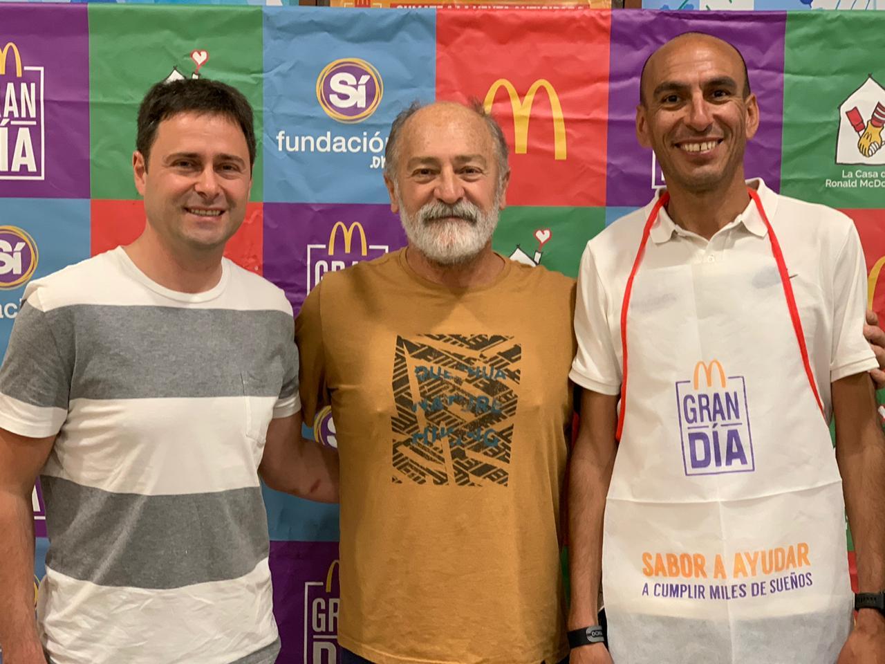 """Deportistas marplatenses participaron del  """"Gran Día"""" de McDonald's"""