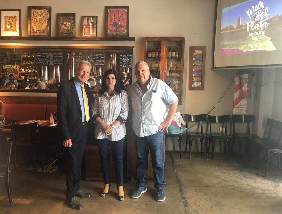 Mar del Plata promociona su oferta turística y gastronómica en Mendoza