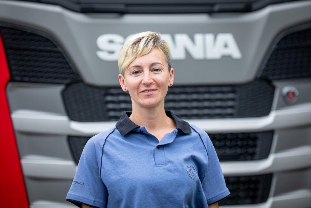 Una marplatense es parte del Programa Conductoras de Scania