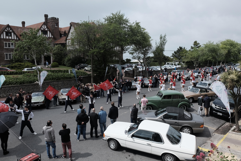 """Llega a Mar del Plata el 2° Rally Internacional Mercedes Benz """"Juan Manuel Fangio"""""""