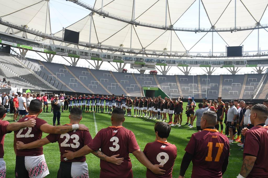 Con seis equipos de distintas cárceles bonaerenses se jugó la etapa final del torneo de rugby en el Estadio Único