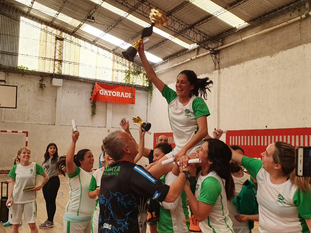 Se juega el primer Torneo Intersindical de Fútbol Femenino