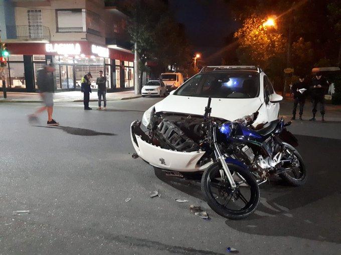 Motociclista murió en un siniestro de tránsito