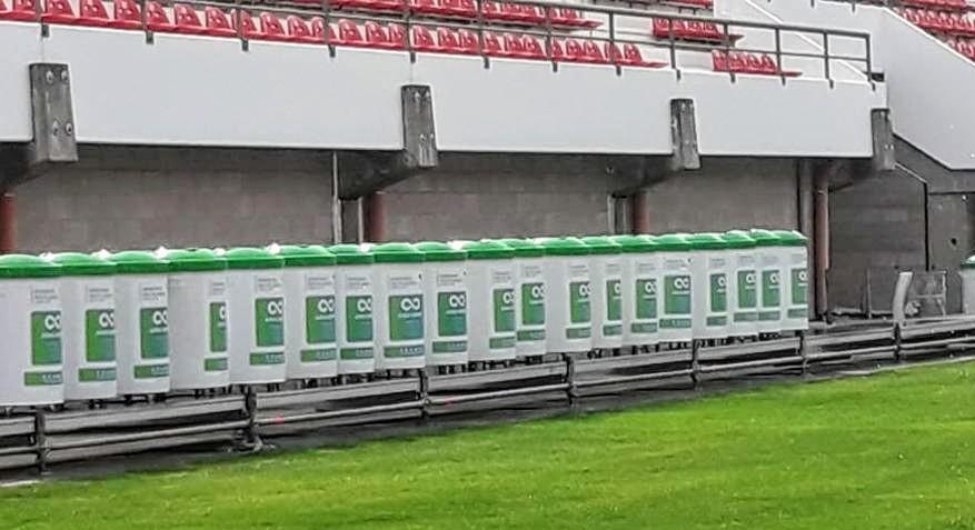 Primer estadio sustentable con el sello del CEAMSE