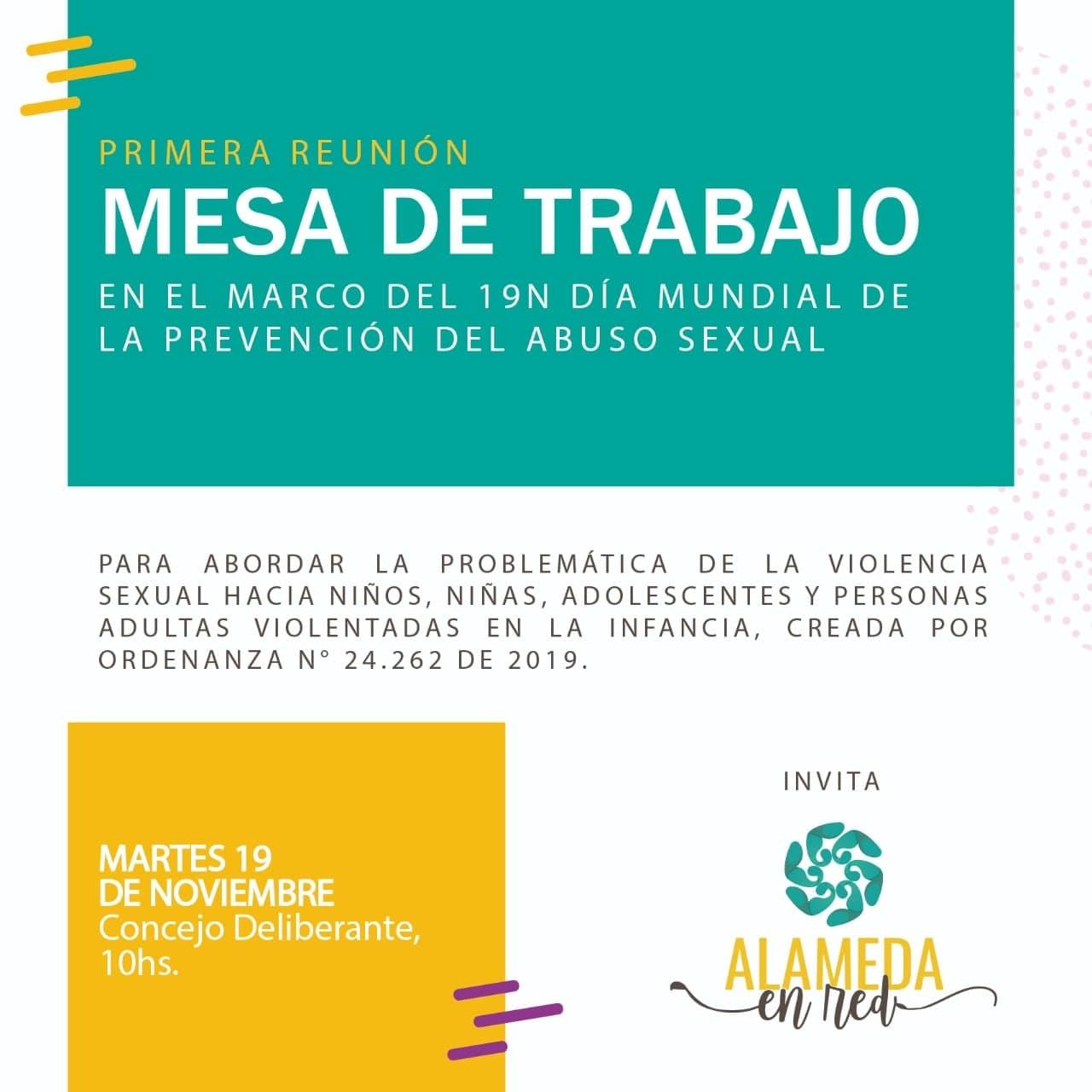 Diversas actividades en el Día mundial de la prevención del abuso sexual