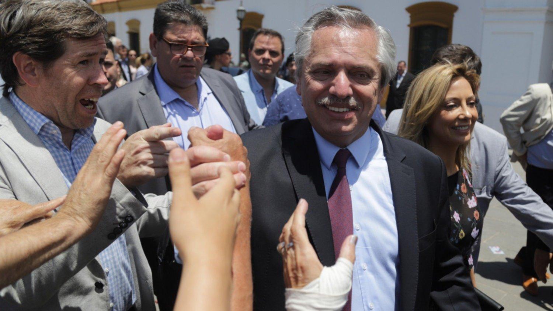 Alberto Fernández luego de la misa en Luján: «El secreto es respetarnos, no pensar igual»