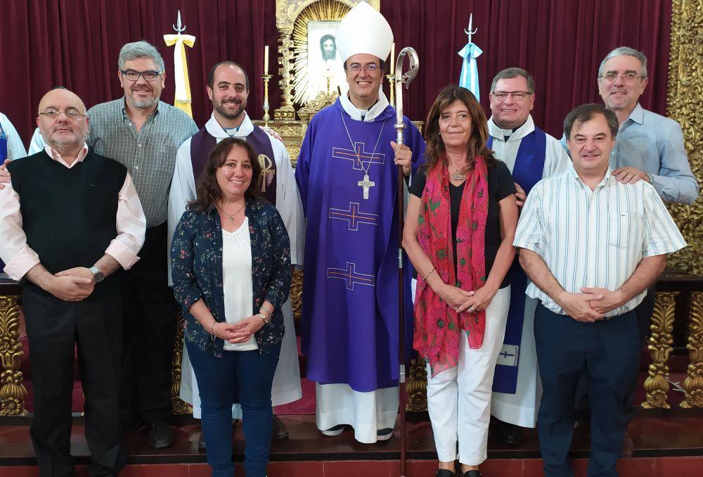 Nuevas autoridades de la educación católica designados por el Obispo de Mar del Plata