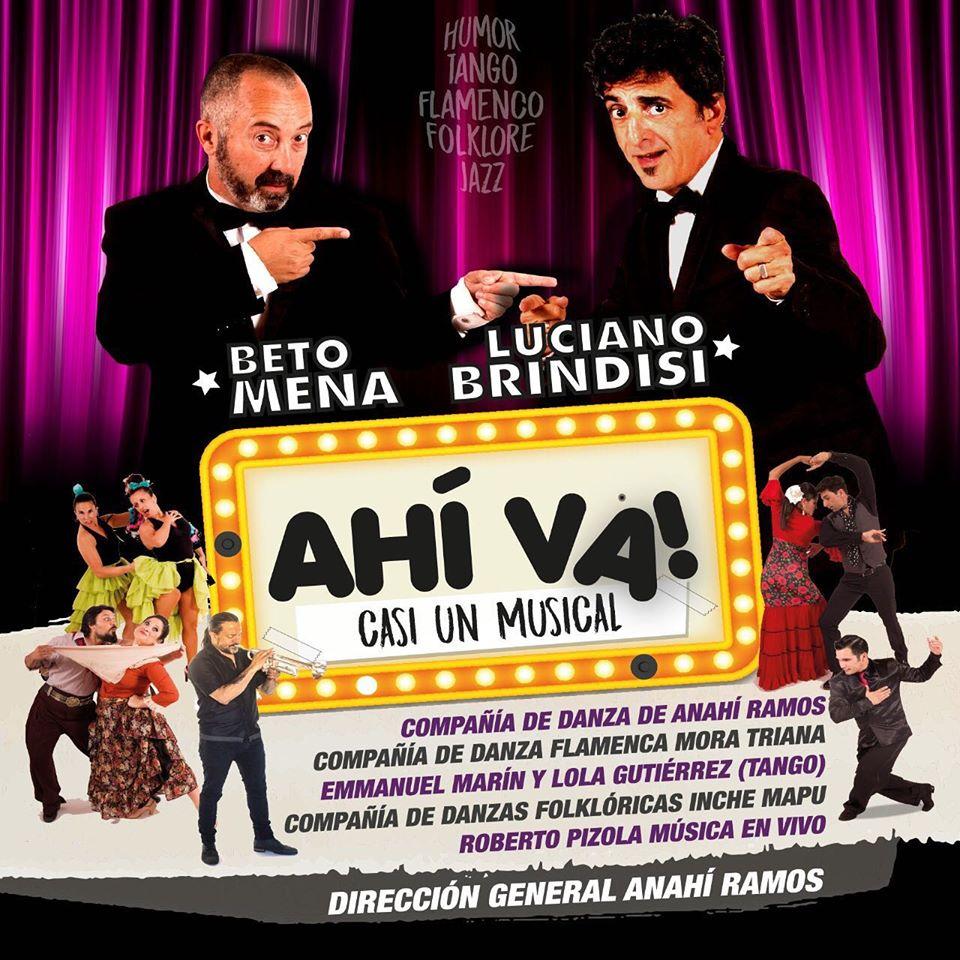 """Este verano llega """"Ahí va! (casi un musical)"""" al Teatro Colón de Mar del Plata"""