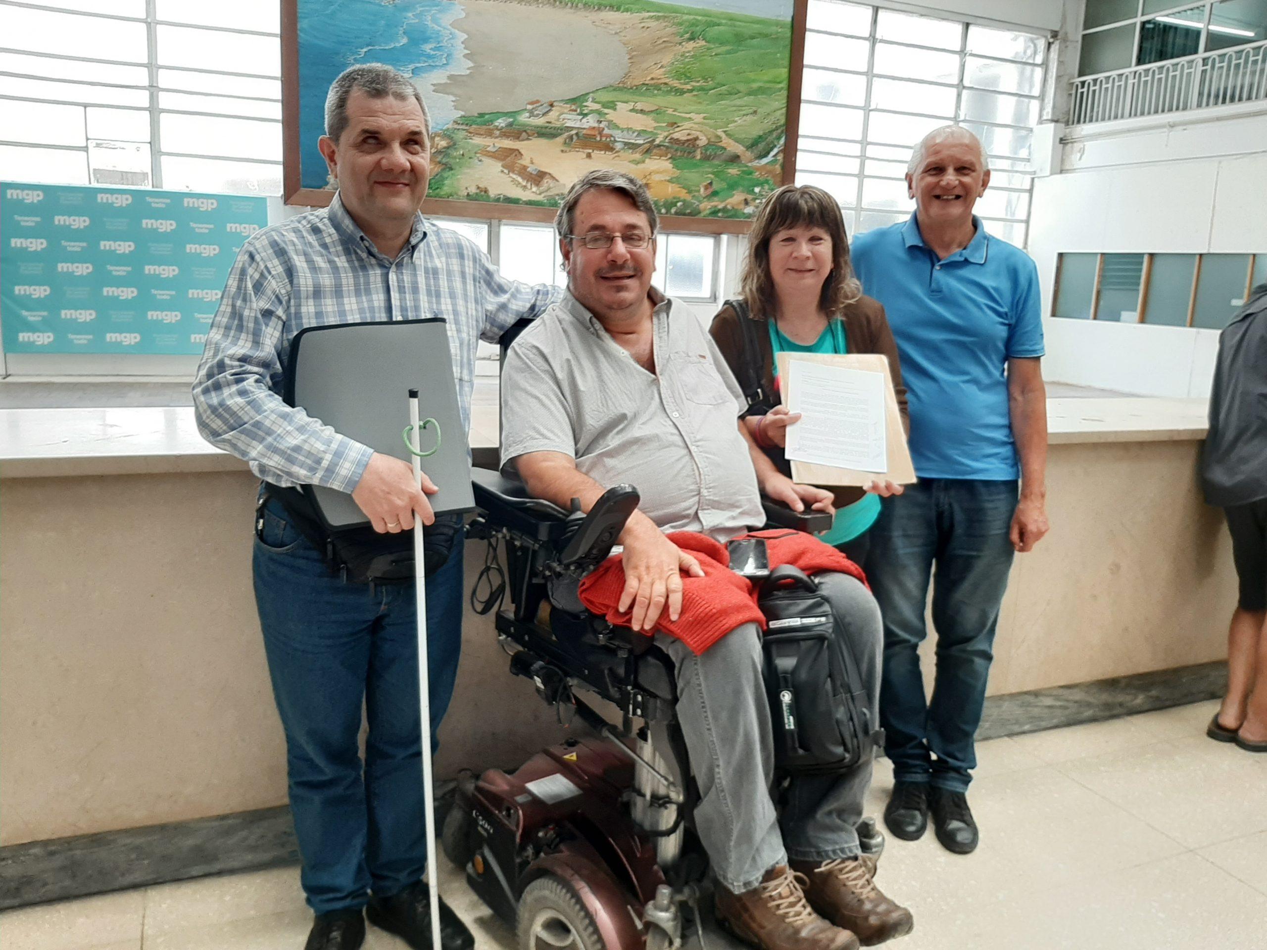 Carlos Mattos, Rodrigo Romera, Gloria Alvarez y Francisco Montanelli