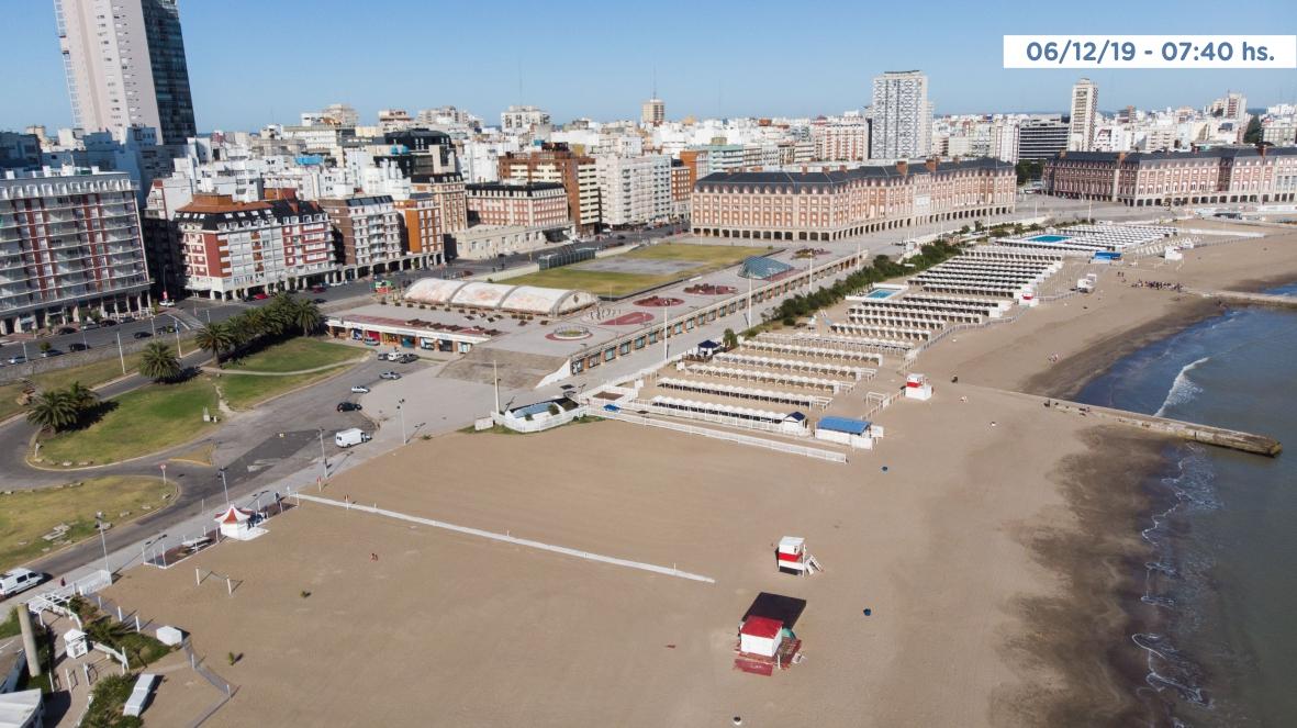 Playa Las Toscas: preservarán fuentes de trabajo y se montará una playa pública equipada