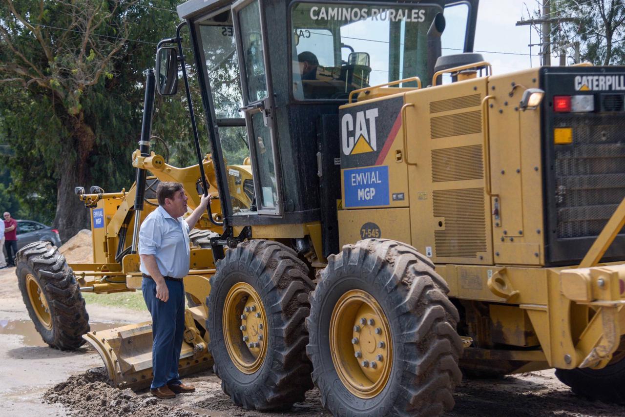 El Municipio realiza el mantenimiento del Camino Los Ortiz