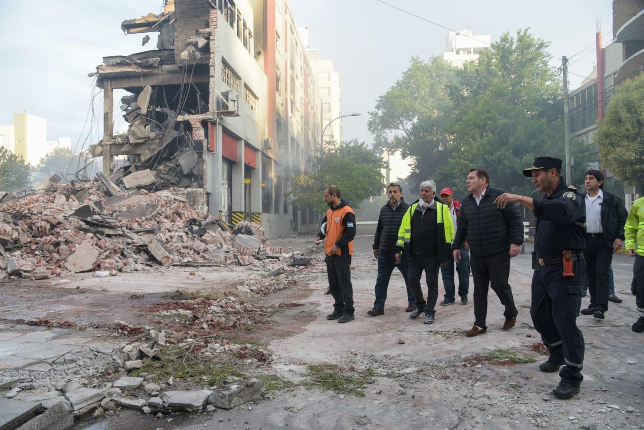 Torres y Liva: habilitan edificio afectado por el incendio