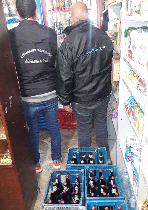 El Municipio clausuró 4 comercios por venta de bebidas alcohólicas fuera del horario permitido