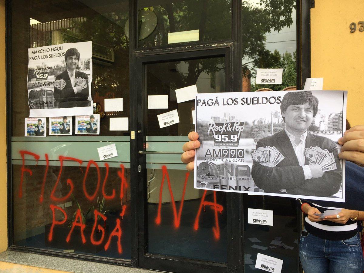Trabajadores de la Agencia Noticias Argentinas en huelga por tiempo indeterminado