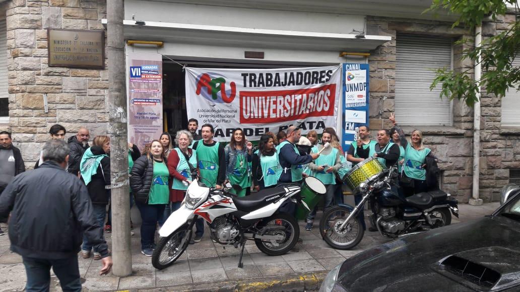Nuevas jornadas de lucha en el conflicto con la Universidad