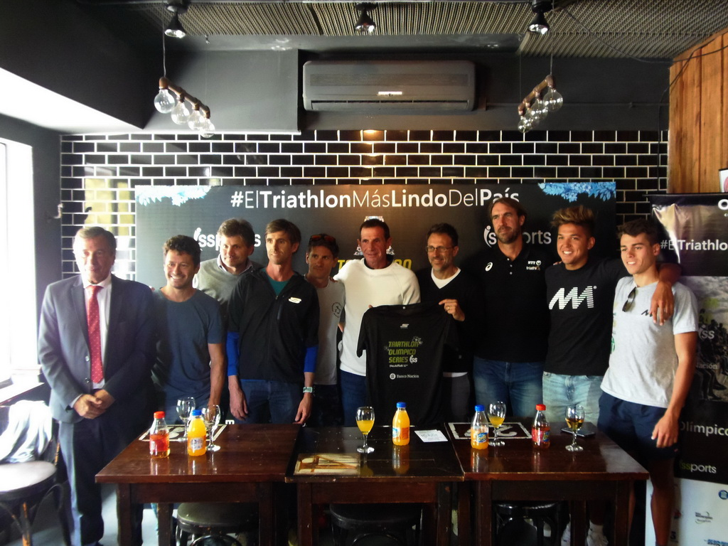 Se presentó el XIV Triatlón Olímpico de Mar del Plata