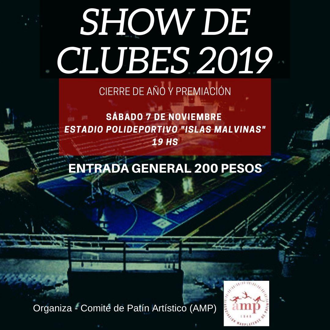 EL PATIN ARTISTICO TENDRÁ SU SHOW DE CLUBES