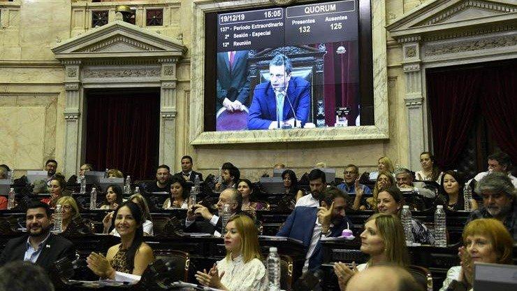 Emergencia Económica: Diputados dio media sanción al megaproyecto