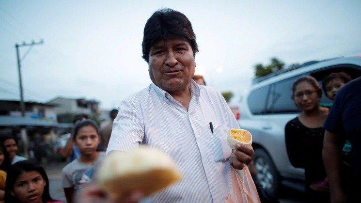 Evo Morales llegó a la Argentina para «quedarse»