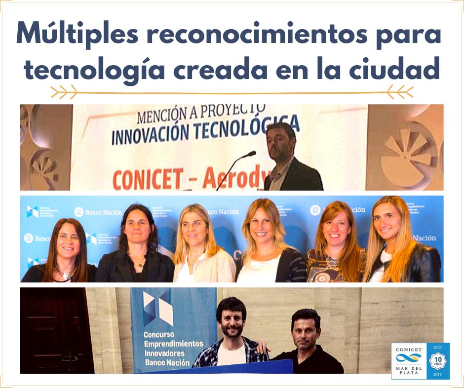 Múltiples reconocimientos para tecnología creada en la ciudad