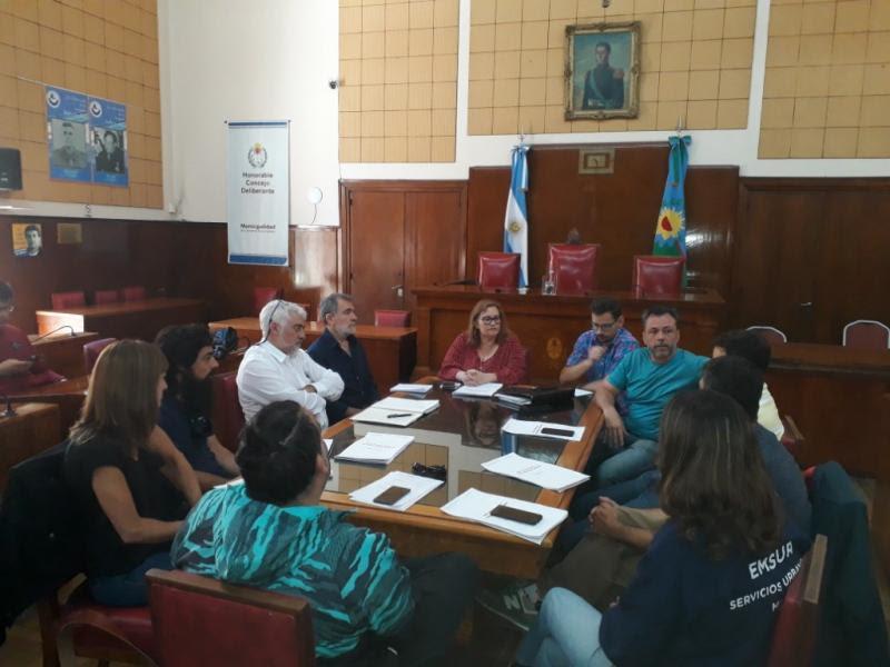 Se realizó otra reunión de la Mesa de Trabajo sobre el Sistema Urbano de Drenaje Sustentable