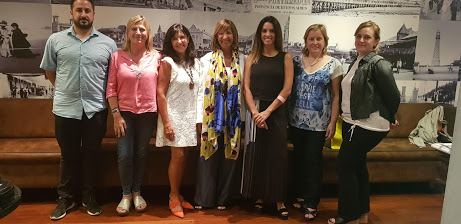 Reunión entre la Facultad de Económicas y la Secretaría de Promoción Turística de la Nación