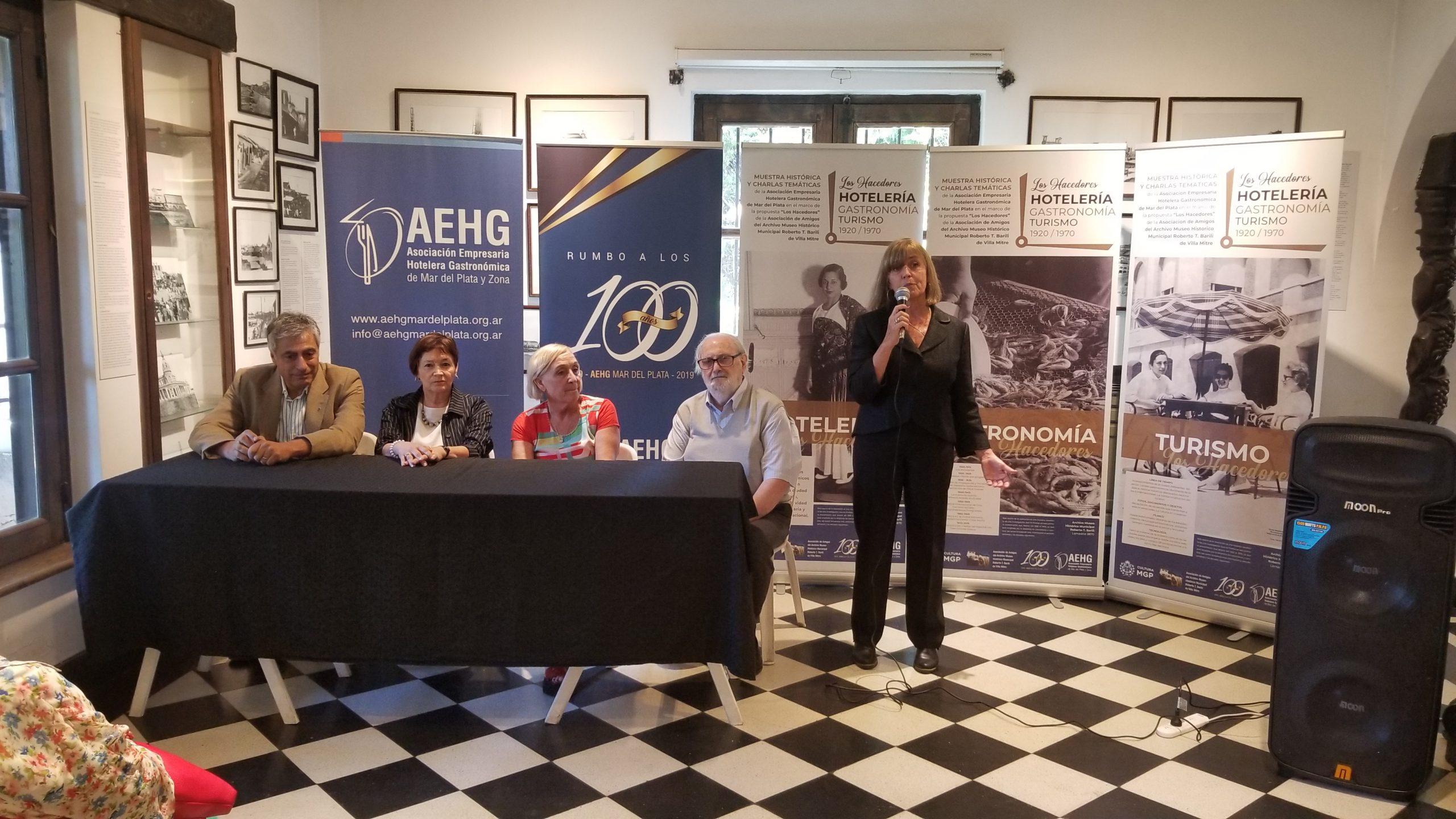 La Asociación Hotelera presentó una muestra en Villa Mitre