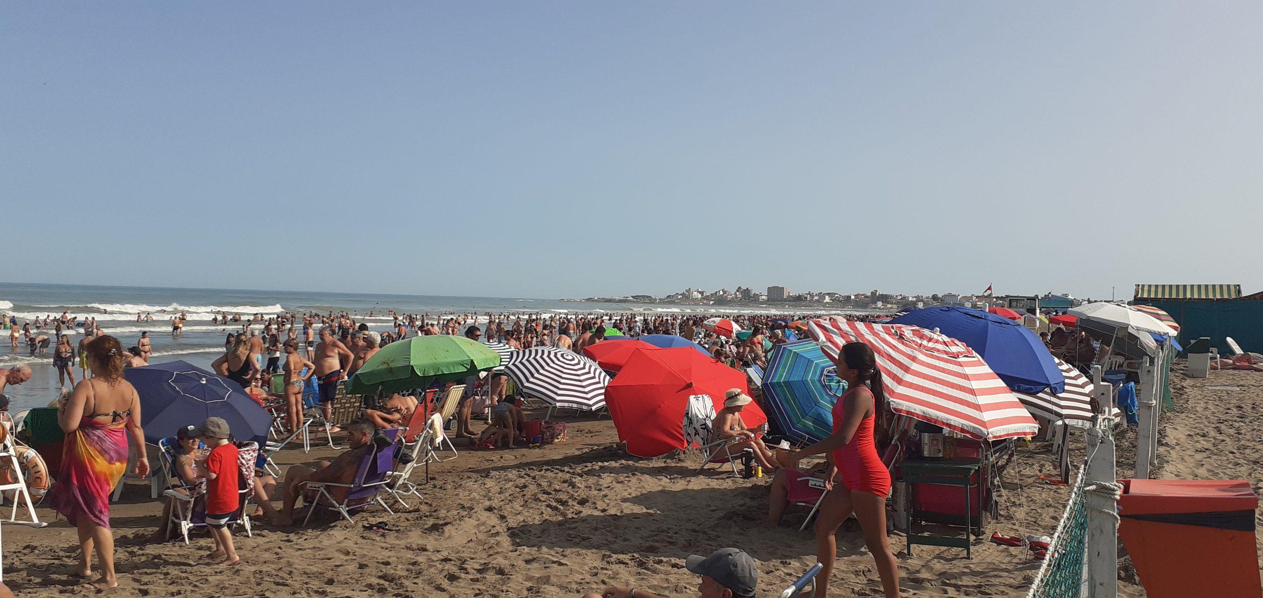 Mar del Plata vivió el último fin de semana de enero repleta de turistas