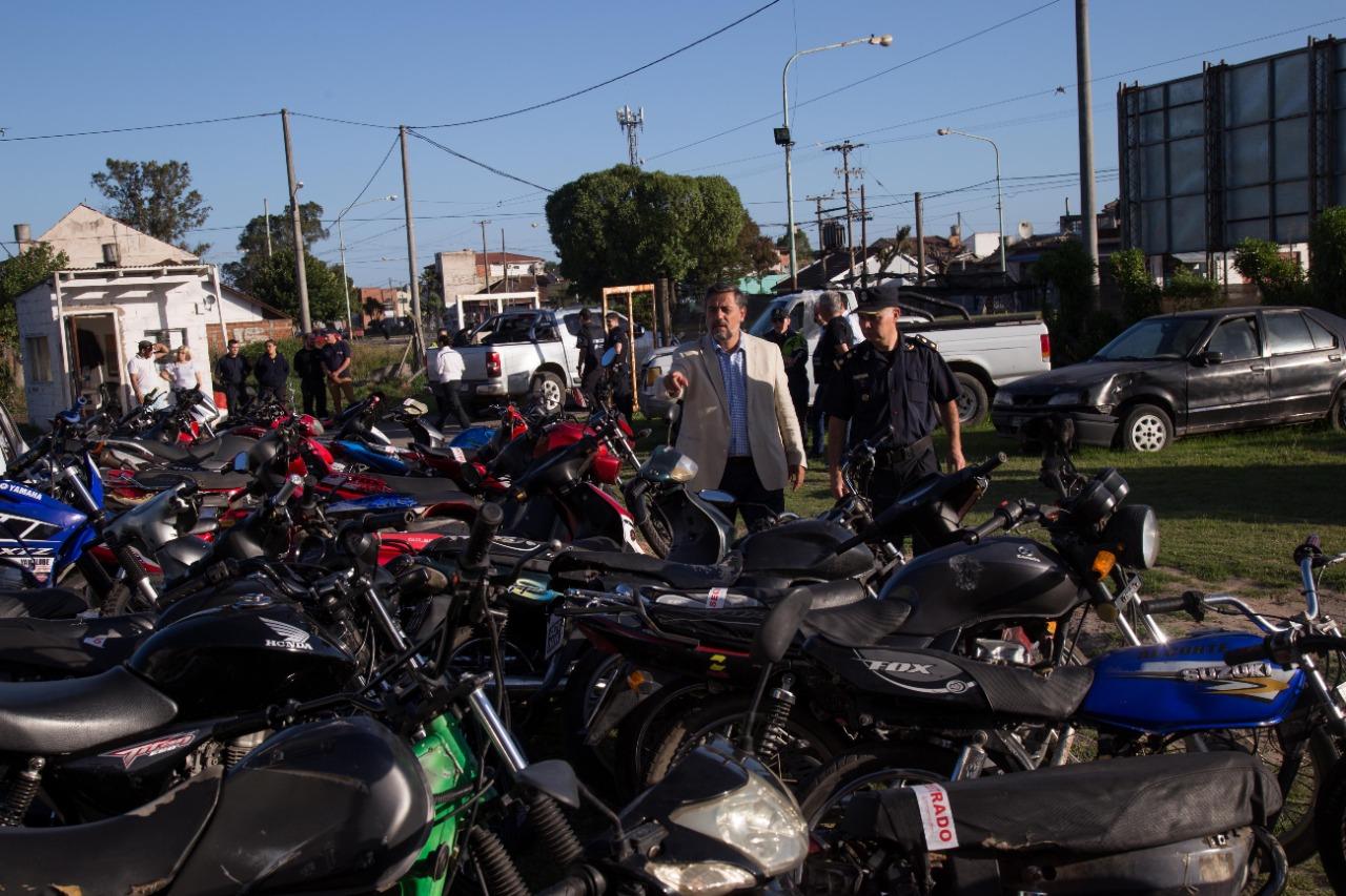 El municipio intensifica los controles a las motos en puntos estratégicos