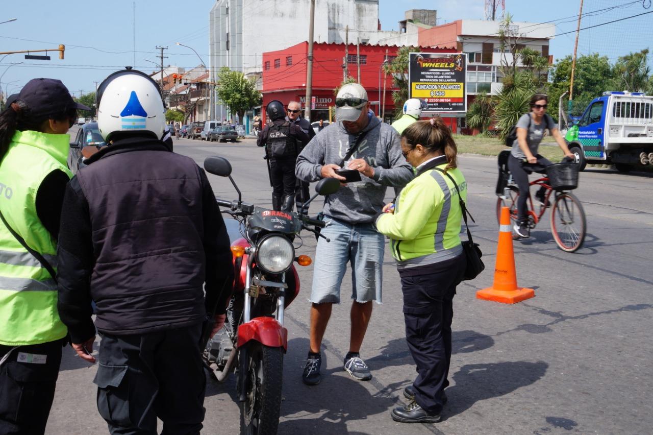 El Municipio desplegó operativos de control durante el  fin de semana