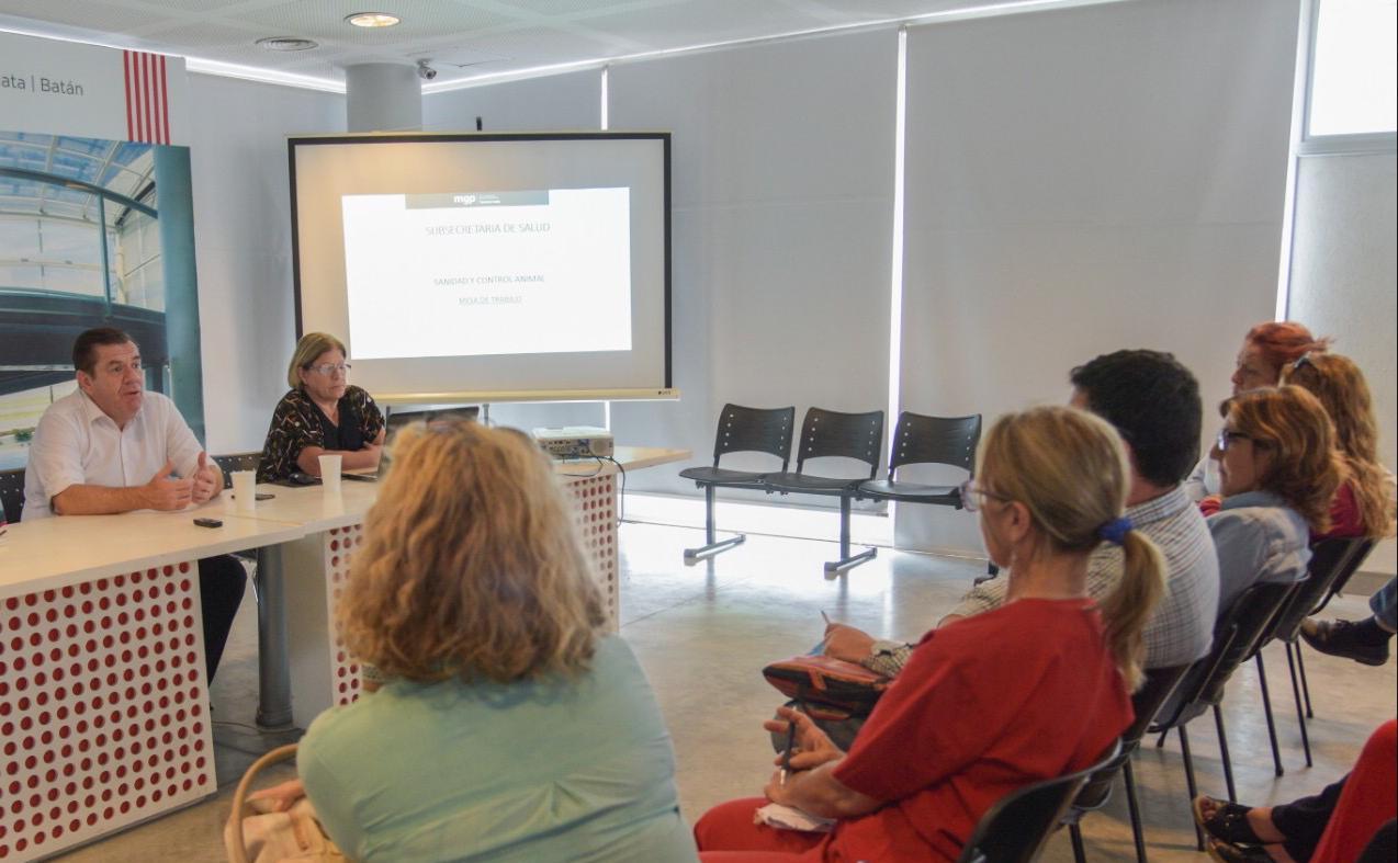 La Secretaría de Salud presentó la reestructuración del área de Zoonosis