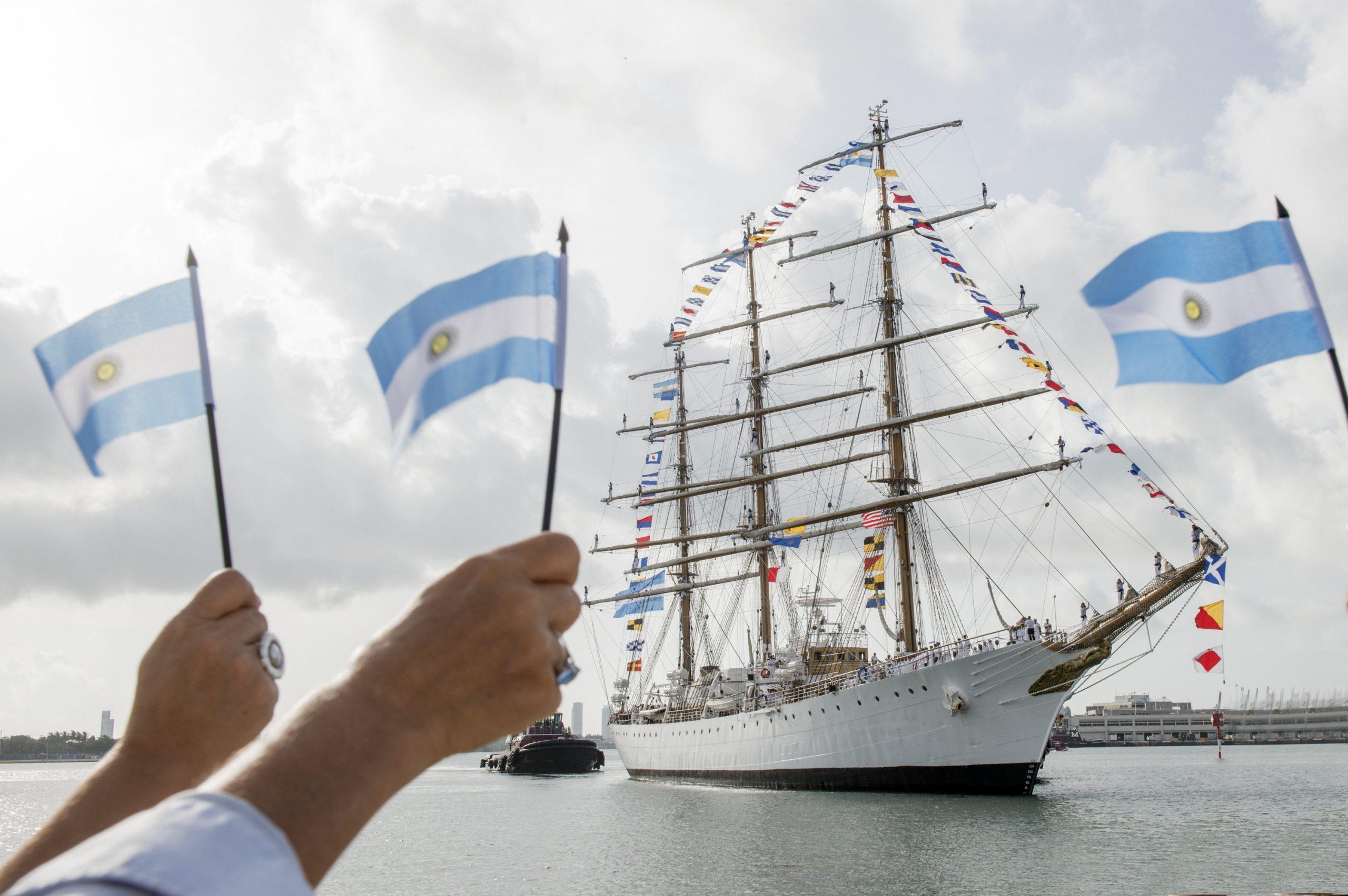 Hasta el 2 de febrero, subite a la fragata «Libertad»