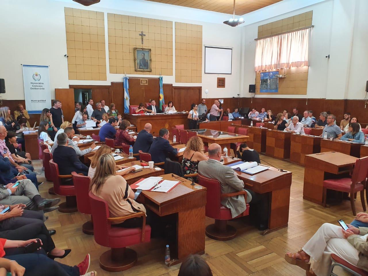 El Concejo Deliberante avanza con una reducción de gastos