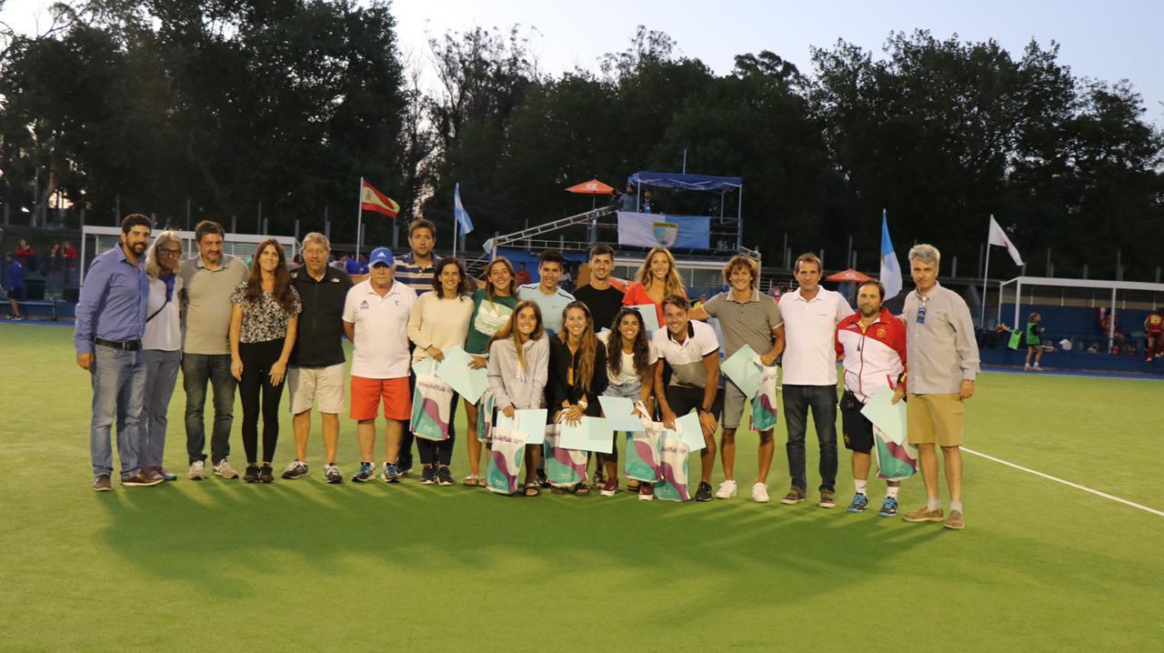 Reconocimiento a Embajadores del Hockey de Mar del Plata