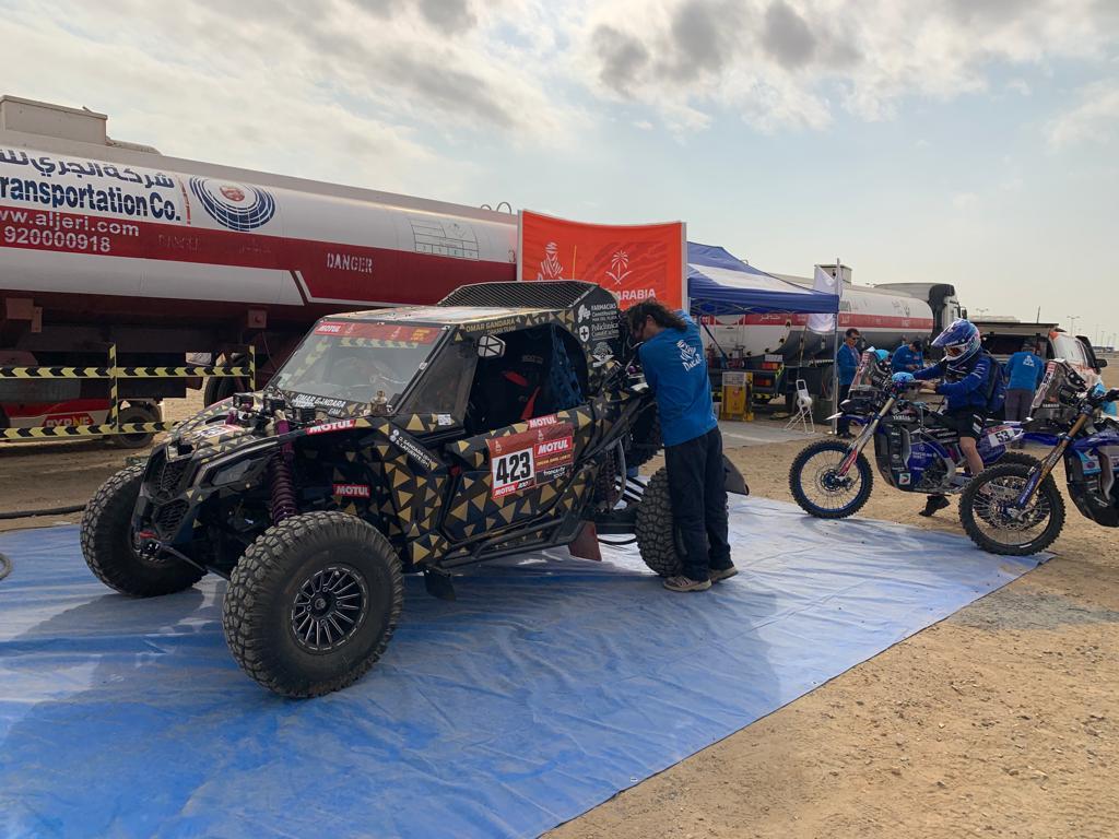 Dakar 2020: Día complicado para Omar Gandara