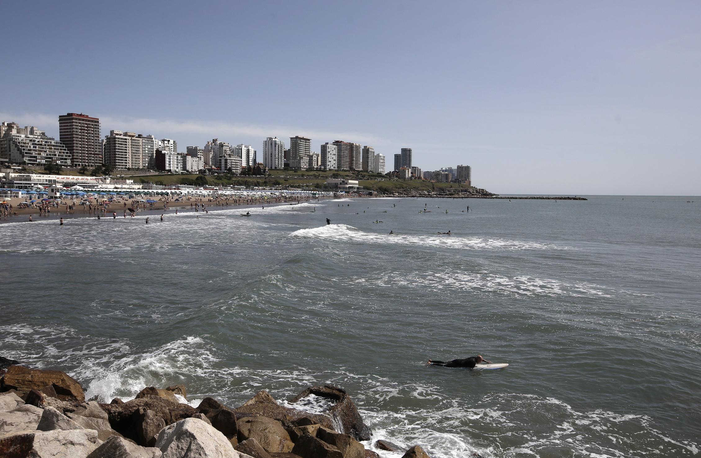 Verano 2020: arribaron 642.128 turistas en la primera quincena a Mar del Plata