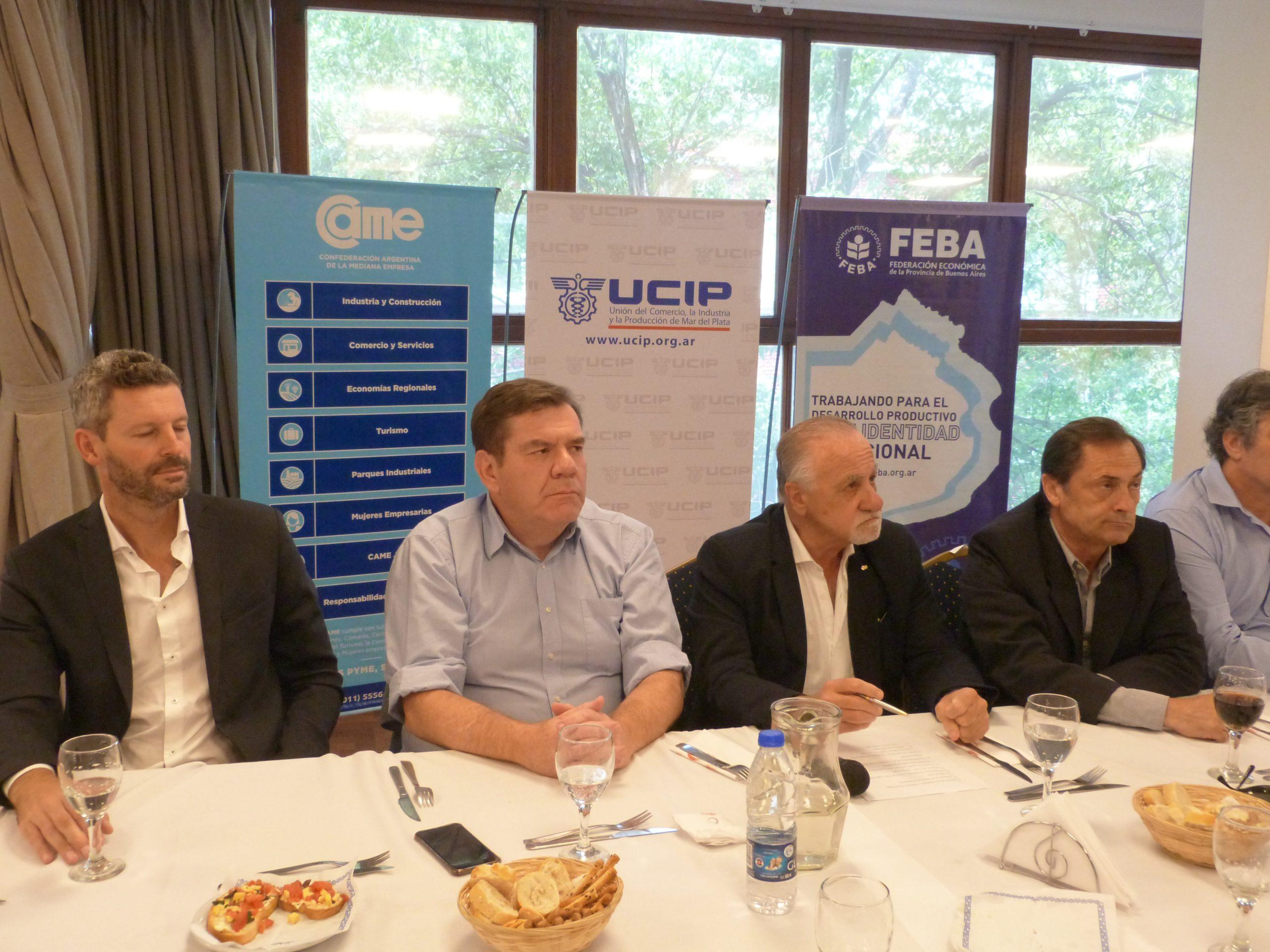 Empresarios plantearon problemáticas y proyectos al Intendente Montenegro