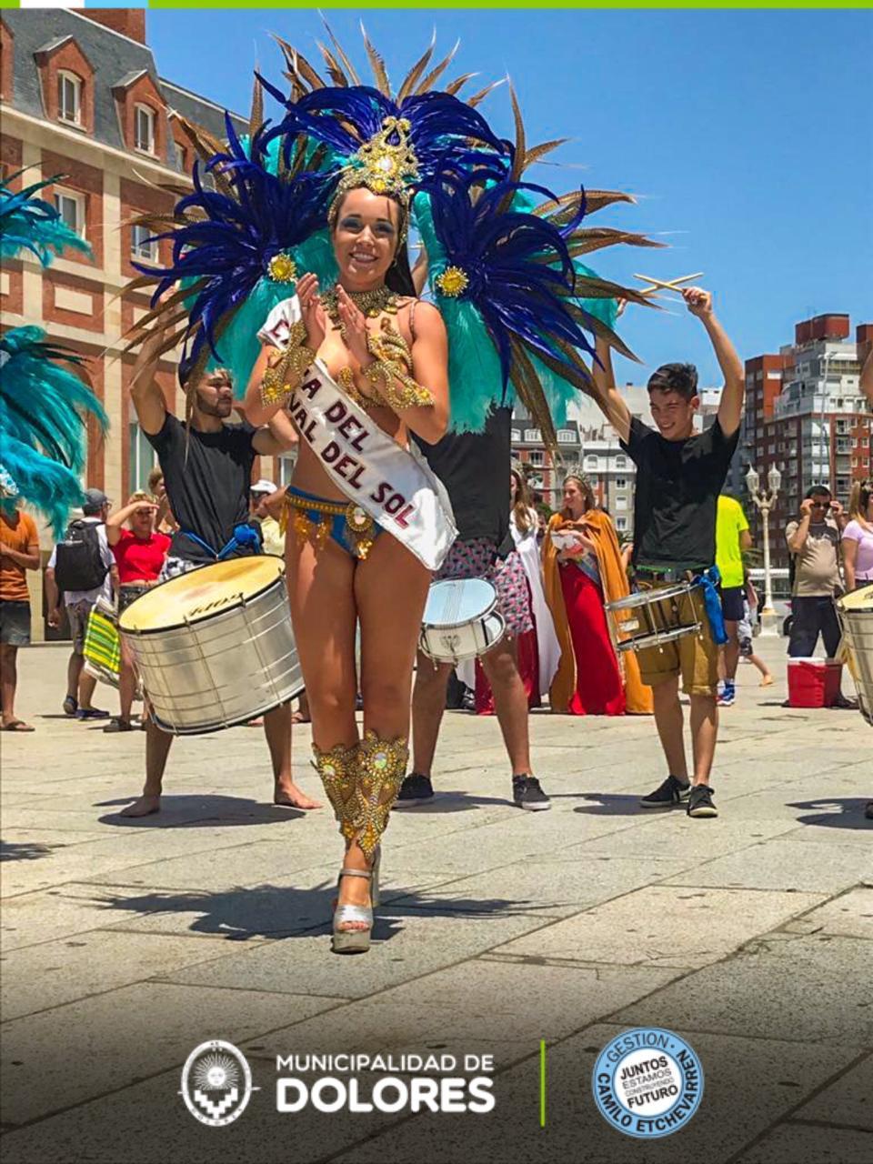 Dolores promocionó el Carnaval del Sol y la Fiesta Nacional de la Guitarra en Mar del Plata