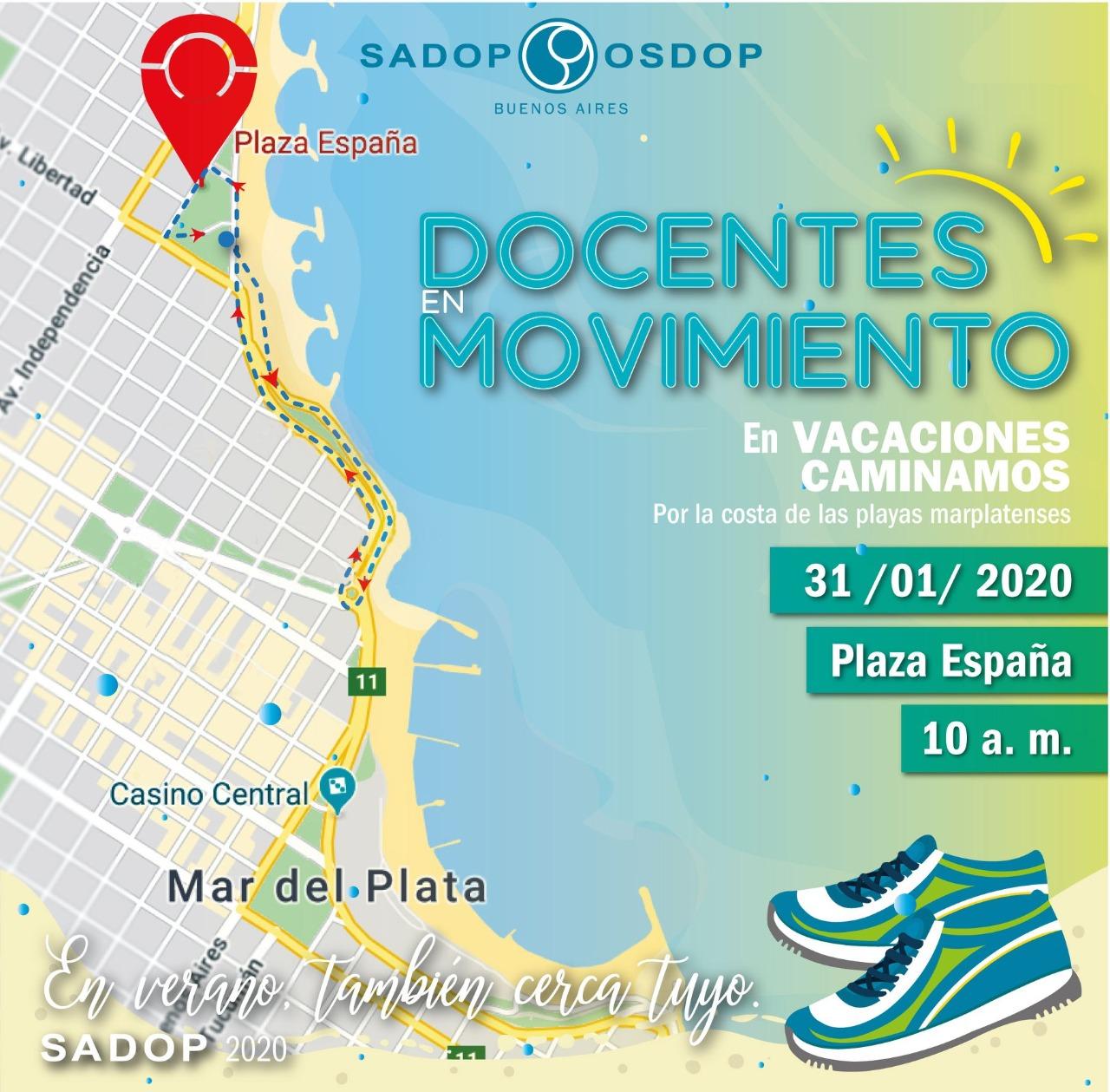 Cierran la campaña #PuntoSADOP con una caminata por la costa