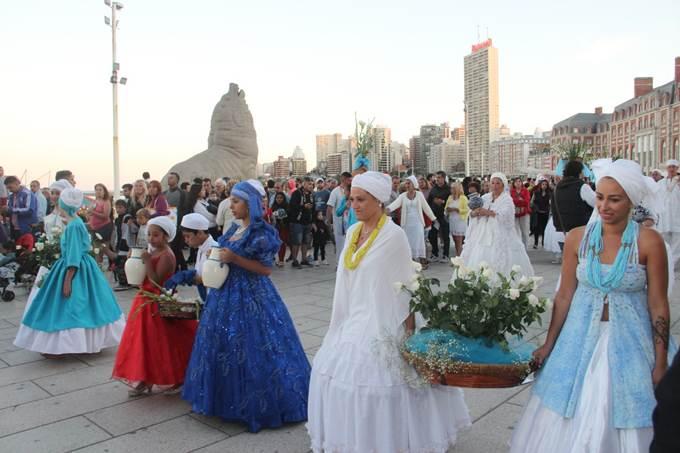 El mar nuevamente será una fiesta con la 36º ceremonia de Iemanjá