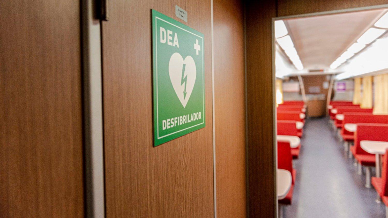 Los trenes Mar del Plata ya cuentan con desfibriladores a bordo